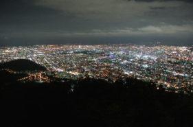 【日本新三大夜景认证!】到札幌一定要看的藻岩山夜景!