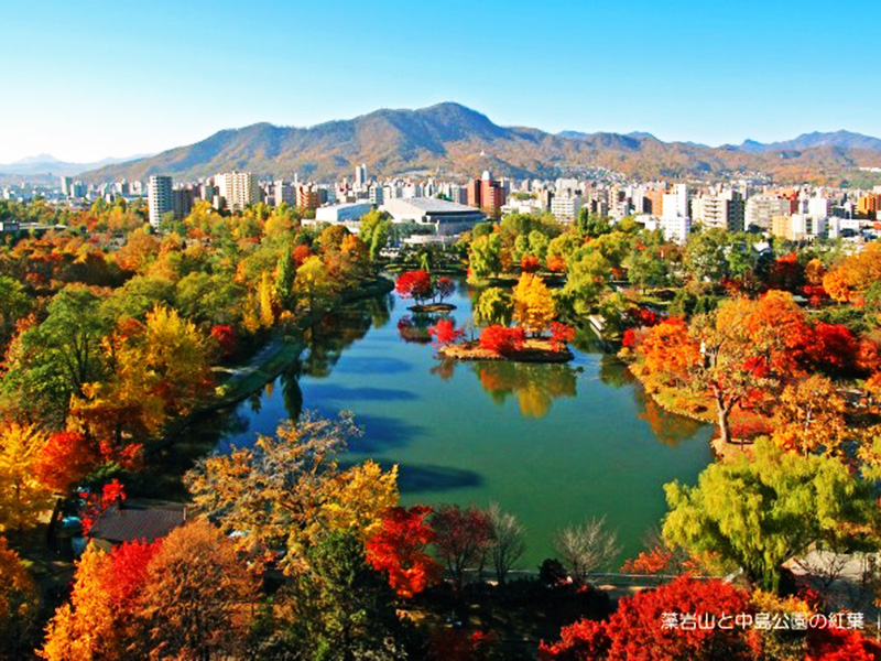 Seven Recommeded Autumn Leave Spots in Sapporo!