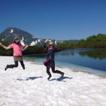 The Latest in Japan? Cherry Blossoms that Bloom in July, My Lake Rausu Trekking Experience!