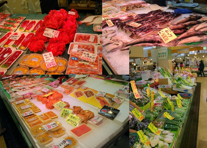 A selection of five markets brimming with seafood in Otaru!