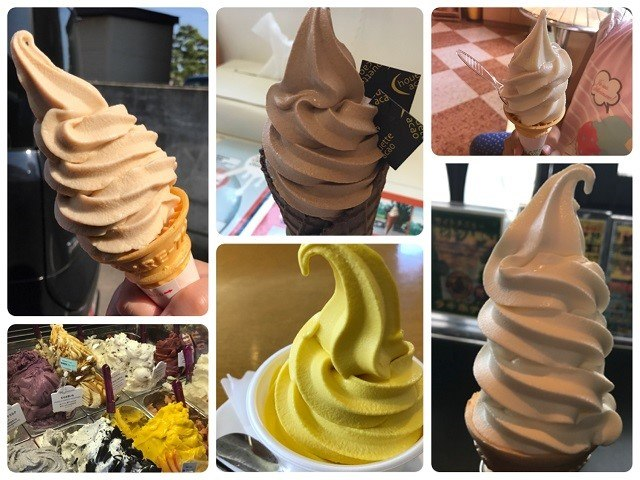 Who's got time for Vanilla? Here are Hakodate's Top 6 Unique Soft-serve Ice Creams!