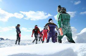 유빙워크<체험기>유빙의위를자유롭게걷는특별한체험!