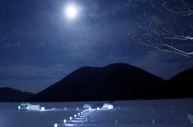 湖上的冰雪世界!體驗然別湖上愛努冰村的魅力【然別湖】