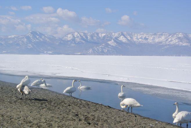 Lake Kussharo sunayu