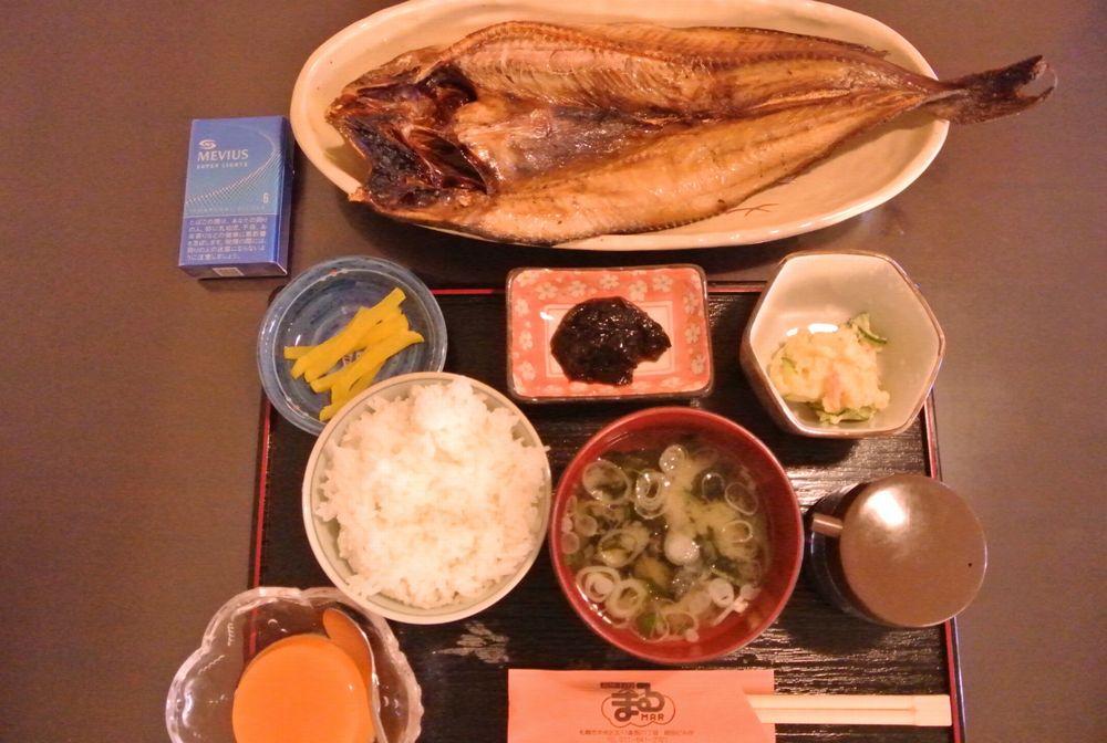 メルカード ホッケ定食