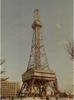 昔のテレビ塔