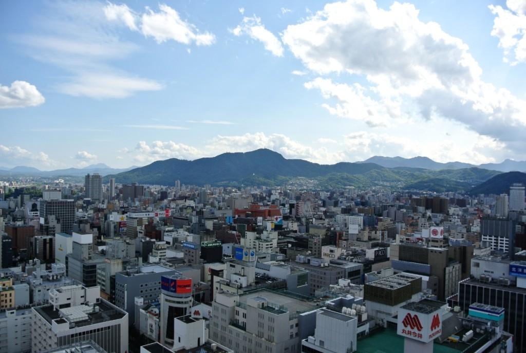 テレビ塔からの風景