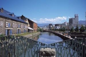中央橋から臨む小樽運河