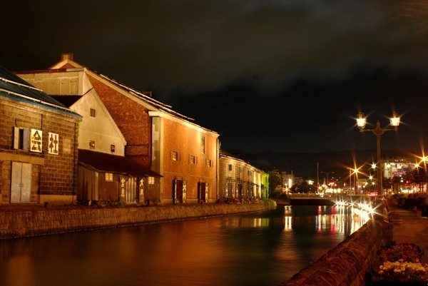 night of otaru canal