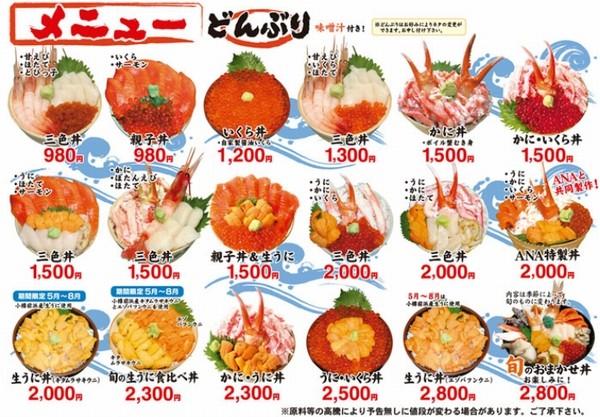 味処たけだの海鮮丼