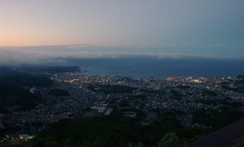 小樽の夜景【薄暮】