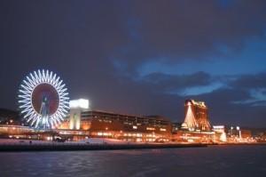 ウイングベイ小樽の夜景