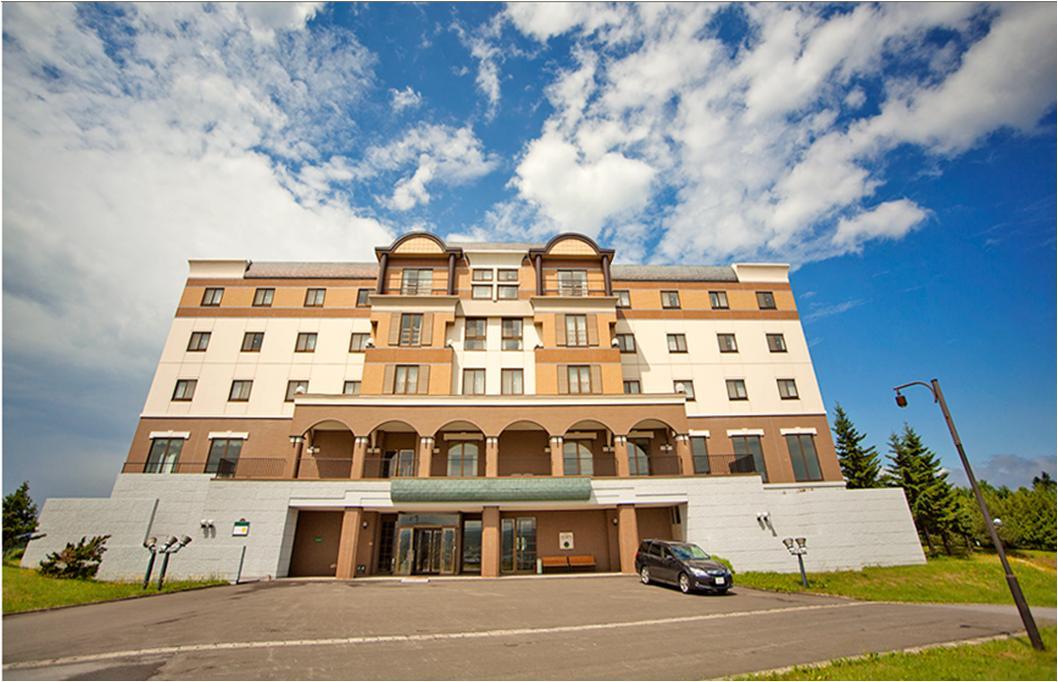 富良野ホップスホテル 正面画像