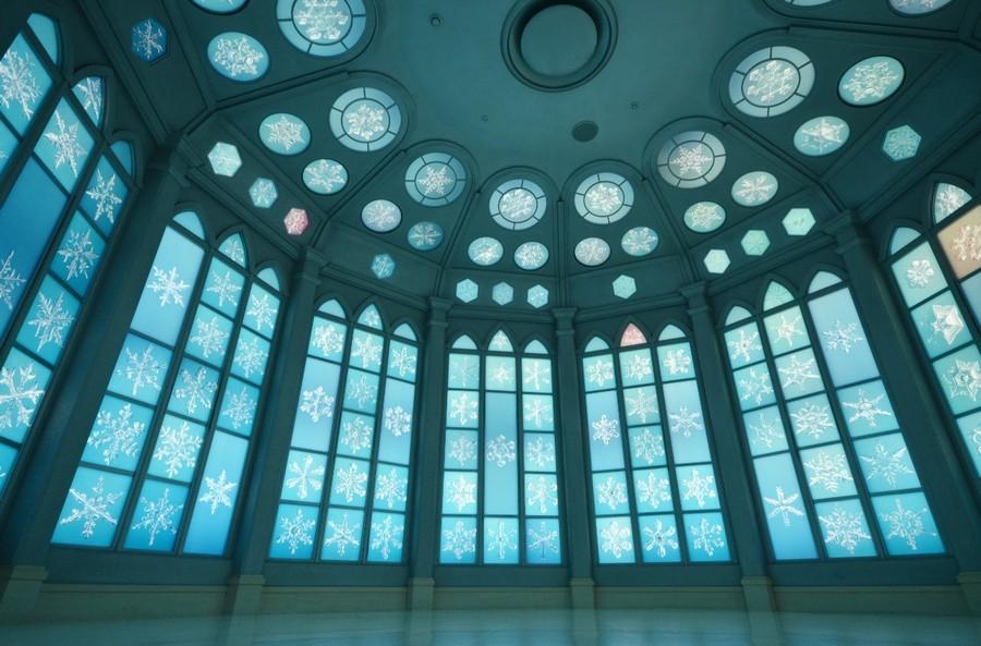 旭川・雪の美術館のホール