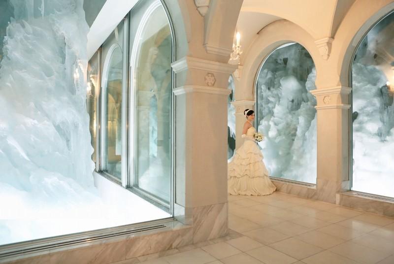 氷の回廊(雪の美術館)
