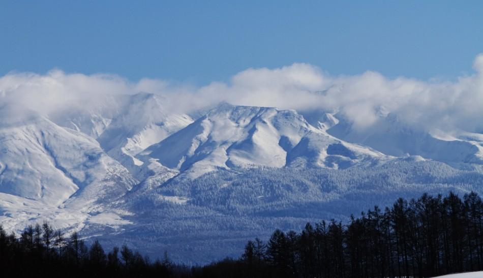 冬の大雪山系