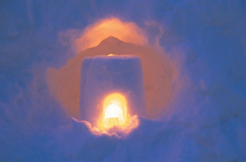 小樽雪あかりの路・雪のキャンドル