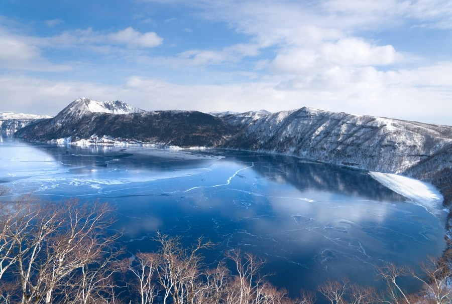 摩周湖の氷結3