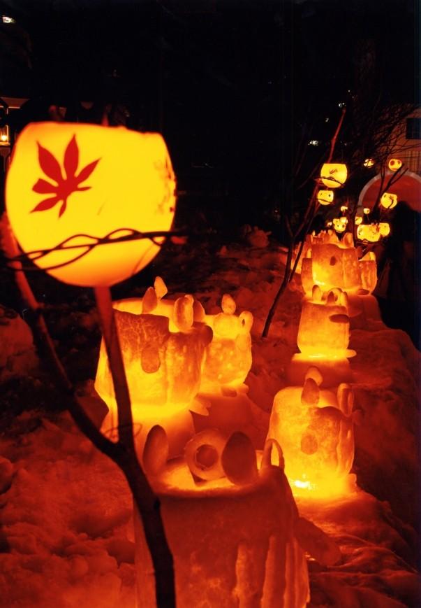 小樽雪あかりの路のイメージ