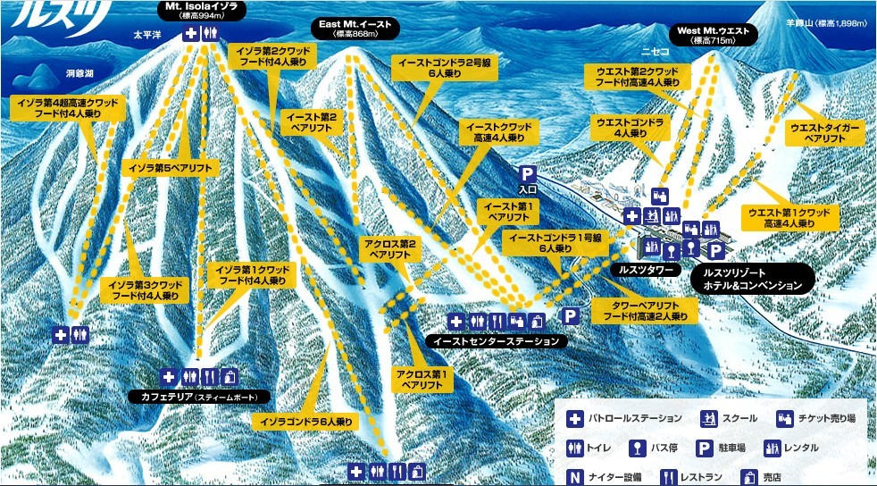 rusutsu-ski-course-map