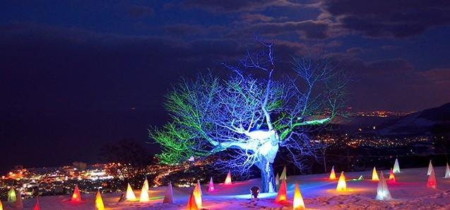 小樽雪あかりの路・ライトアップ