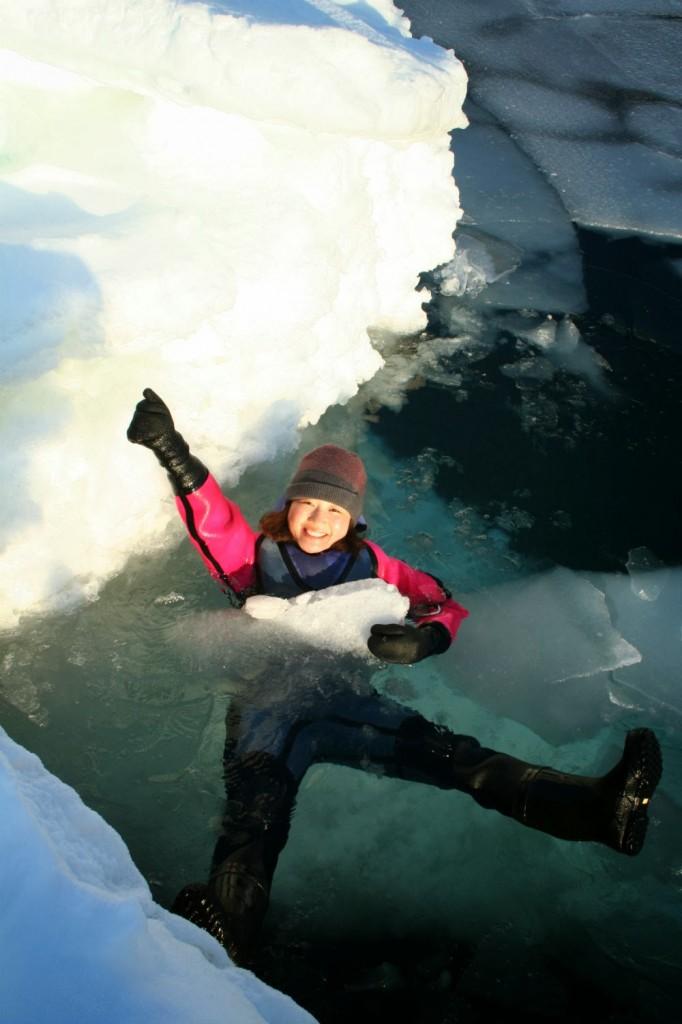 流氷プール
