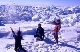 流氷ウォーク【体験記】流氷の上を自由に歩く特別な体験!