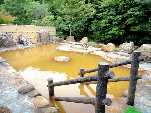 おぼこ荘露天風呂