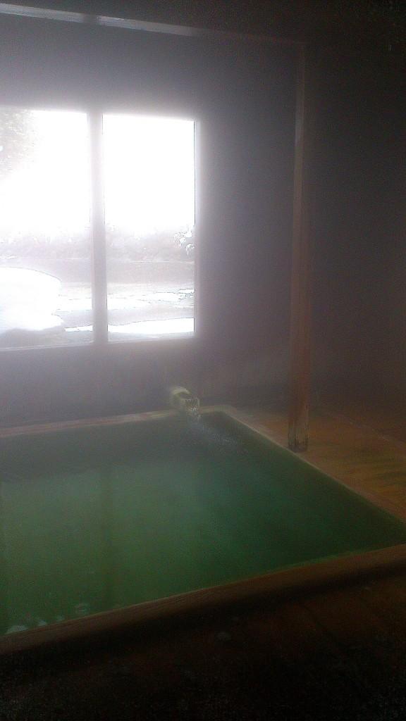 野中温泉の湯船