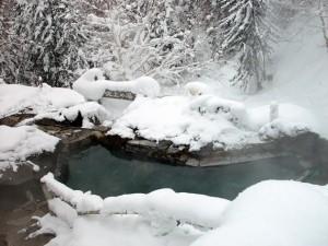 吹上露天の湯 冬