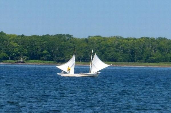 野付半島打瀬船