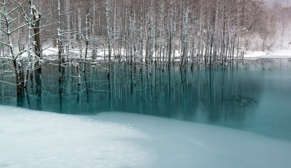 biei blue pond