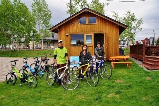 美瑛のサイクリングツアー