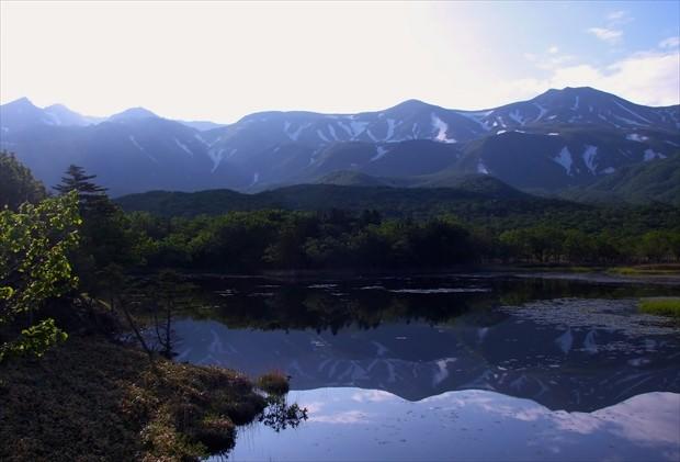 朝の知床五湖