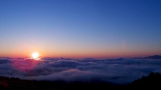美幌峠の雲海