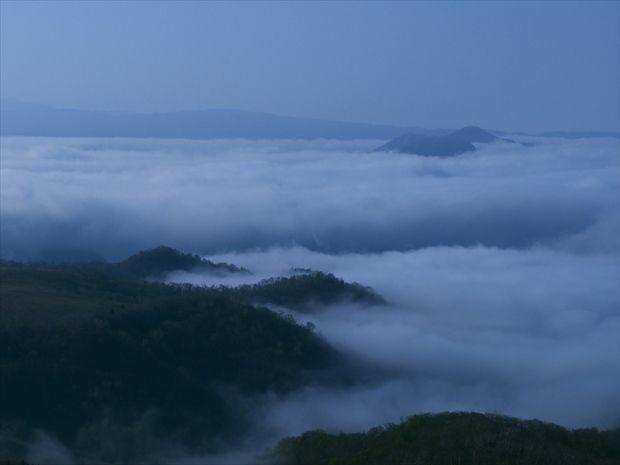 藻琴山からの雲海