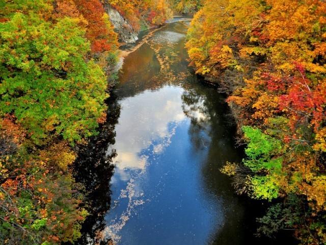 札幌・定山渓の紅葉