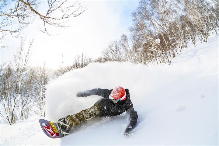 北海道 スノーボード ルスツリゾート