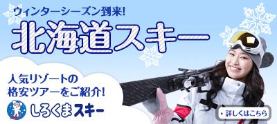 しろくまツアー北海道SKI