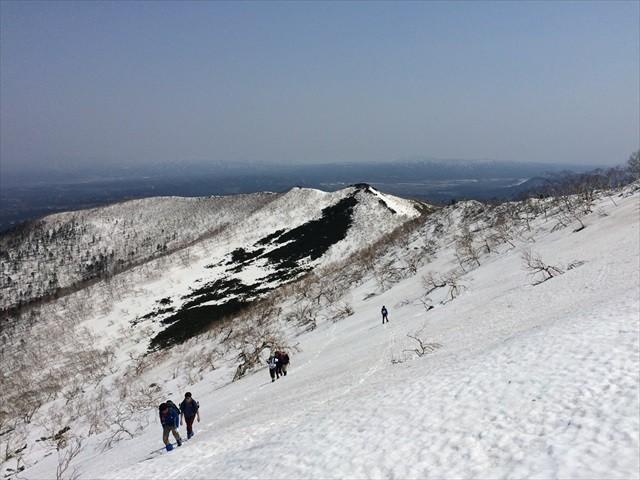 藻琴山の冬