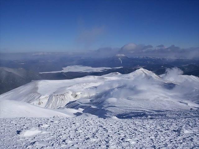 ひがし北海道の冬山