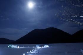 湖上の氷の世界!しかりべつ湖コタンの魅力に迫る【然別湖】