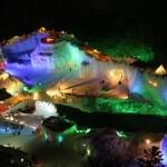 幻想的な氷の王国へ!層雲峡温泉氷瀑まつりの魅力&みどころ