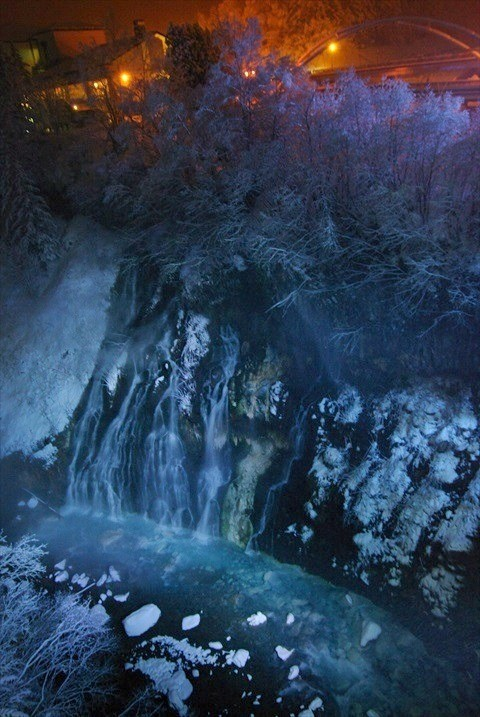 美瑛・白ひげの滝