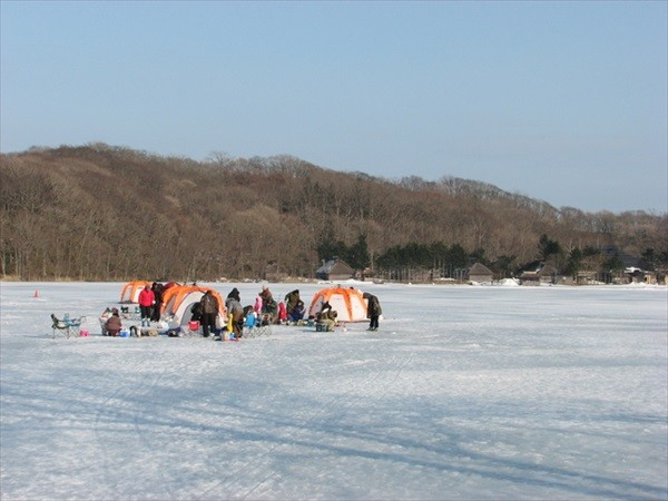 札幌近郊ワカサギ釣り体験