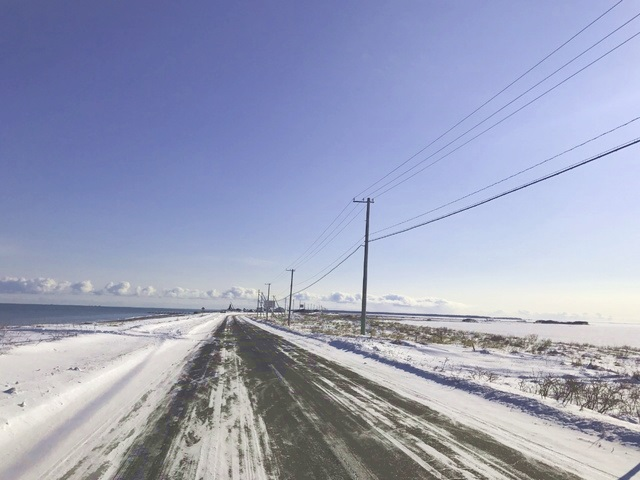 ひがし北海道エクスプレスバス 野付半島画像