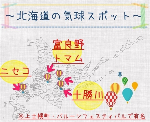 北海道・気球体験