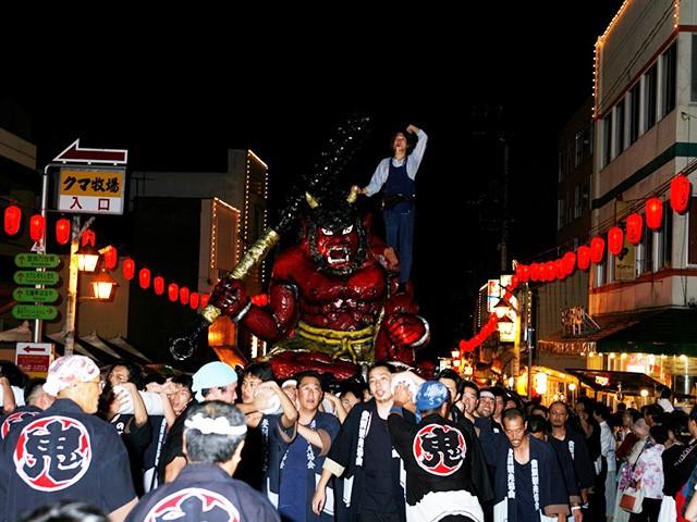 北海道 登別地獄まつり 大行進