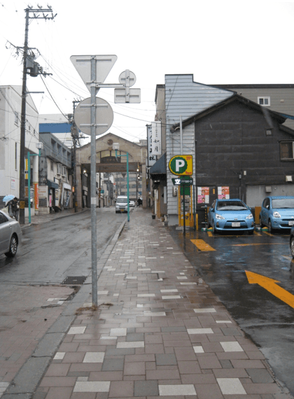 小樽駅近隣 駐車場
