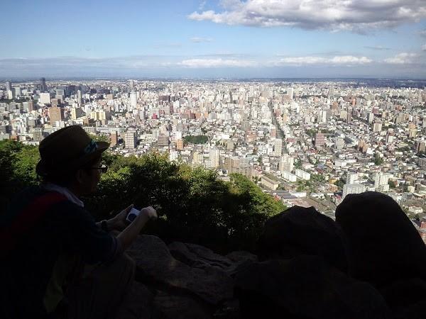 円山プチ登山